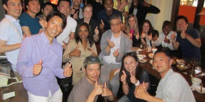 MBA Students with Waseda U Students