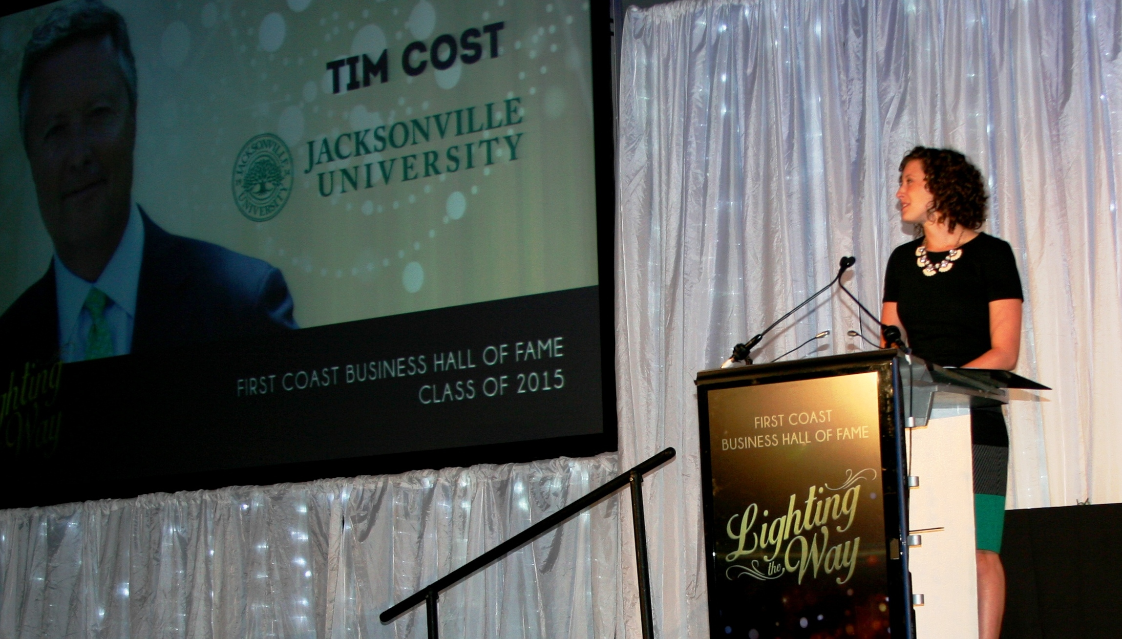 President Cost Champions Positive Intent At Induction To First Coast Business Hall Of Fame Wave Magazine Online