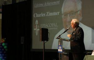Charles Zimmer, Episcopal School of Jacksonville, won the Lifetime Achievement Award.