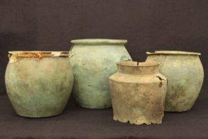 Bronze Vessels from Well 1, Cetamura (courtesy of N. T. de Grummond)