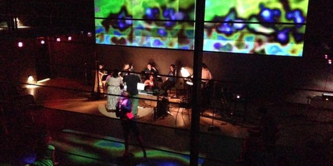 Electroacoustic Barn Dance performance