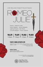 Romeo and Julet theater poster