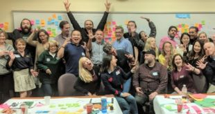 Participants in the Design Thinking workshop