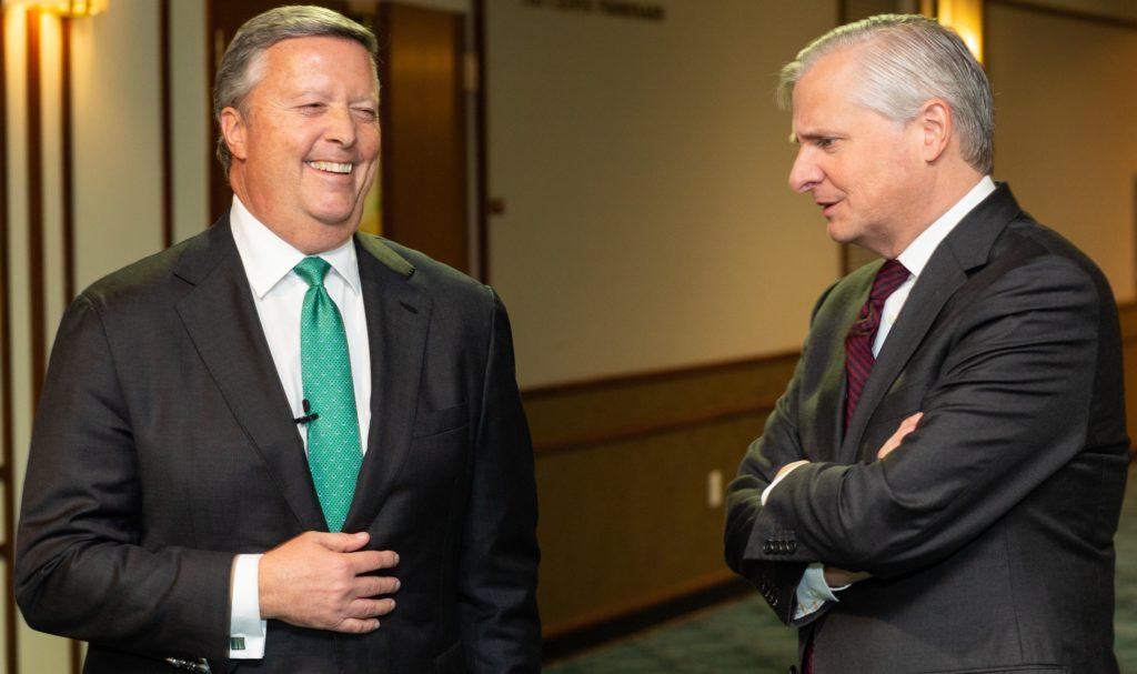 President Cost and Jon Meacham