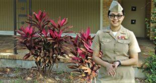 Vanessa Rodriguez in uniform