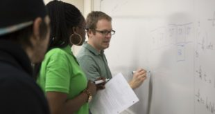 Dr. Brian Lane instructs students