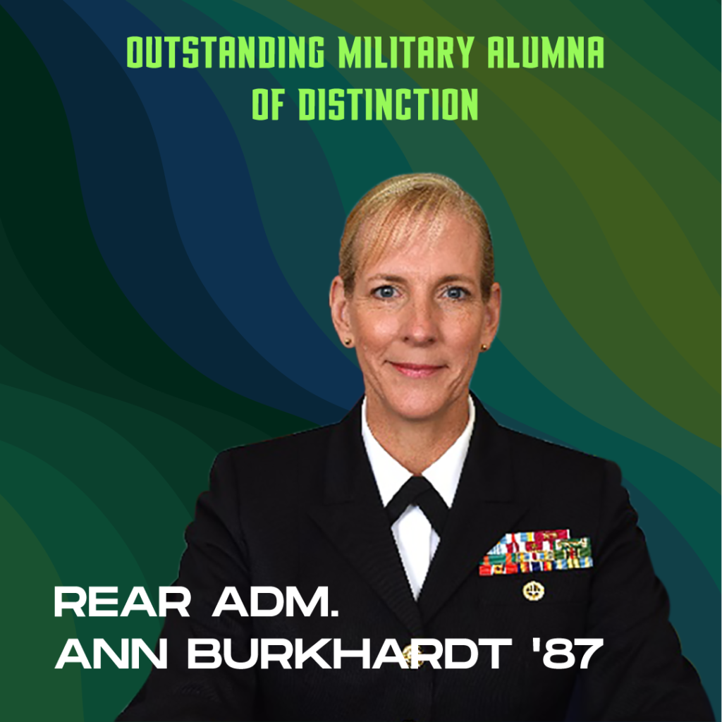 Outstanding Military Alumnus of Distinction: Rear Adm. (Ret.) Ann Burkhardt '87