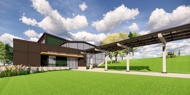 Rendering of Jacksonville University's new basketball performance center