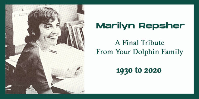 A final tribute to Dr. Marilyn Repsher.
