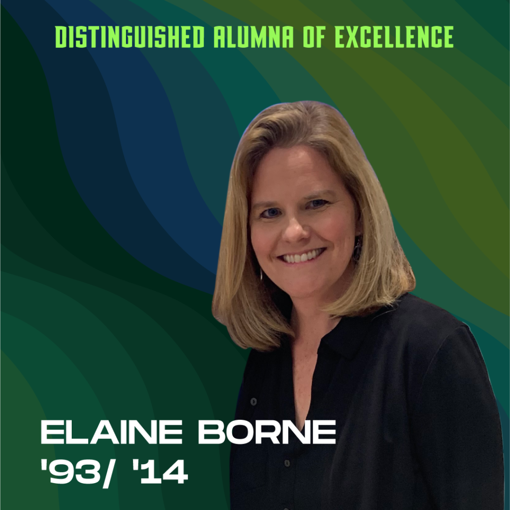 Distinguished Alumna of Excellence: Elaine Borne '93/'14