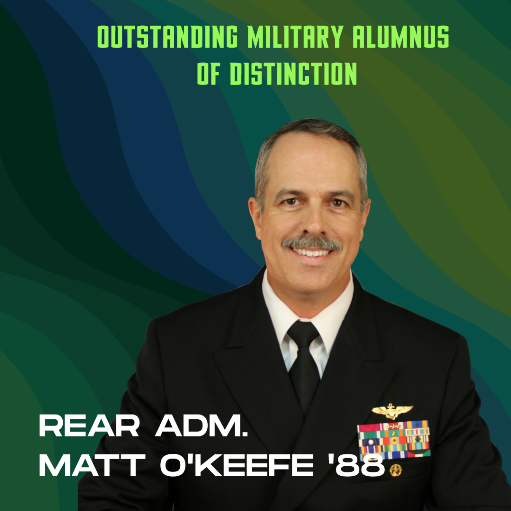 Outstanding Military Alumnus of Distinction: Rear Adm. Matt O'Keefe '88