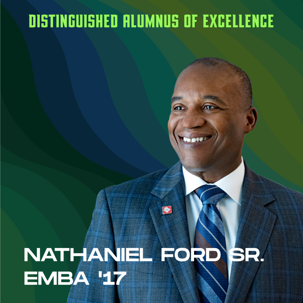 Distinguished Alumnus of Excellence: Nathaniel Ford Sr. EMBA '17