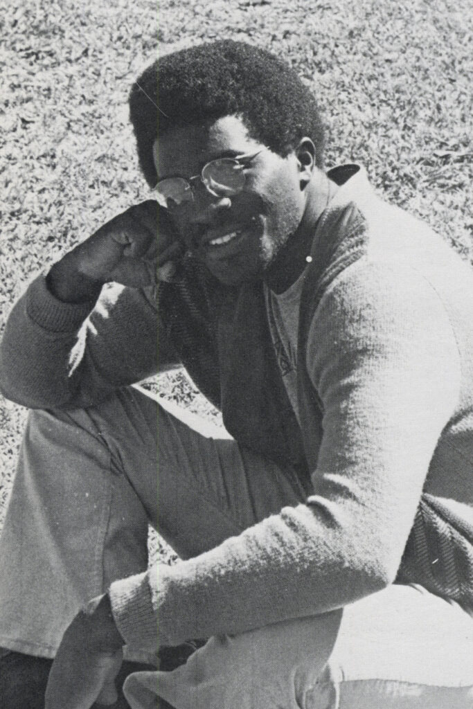 Photo of Marvin Wells on campus