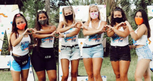AEP Sorority Sisters in Masks