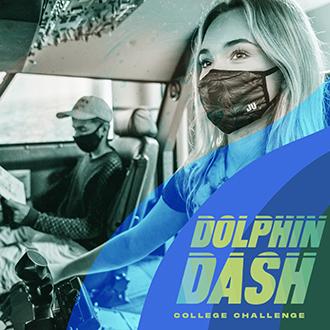 Dolphin Dash 2021 College Challenge Photo