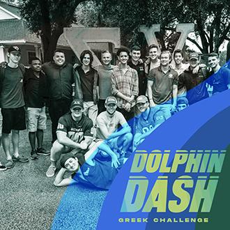Dolphin Dash 2021 Greek Challenge Photo