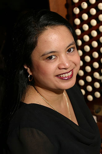 Headshot of Dr. Jennifer Pascual, Director of Music at St. Patrick's Cathedral in New York City