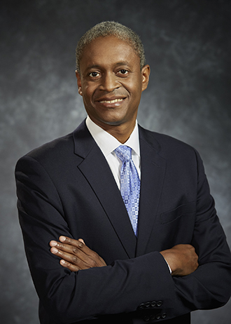 Headshot of Dr. Raphael W. Bostic President and CEO of the Federal Reserve Bank of Atlanta