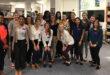 Speech-language pathology students visit Landon Middle School (pre-COVID) in Duval County, Fla.