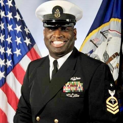 Ray Meyers Navy Uniform Photo